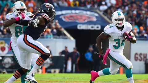 Dolphins vs. Bears