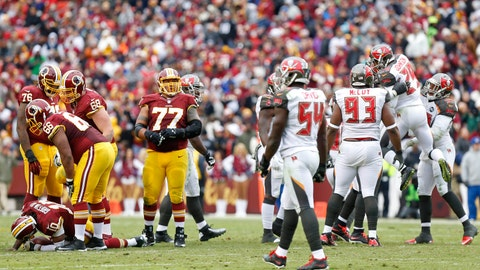 Buccaneers vs. Redskins