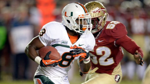 Duke Johnson, Miami Hurricanes