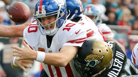 Jaguars vs. Giants
