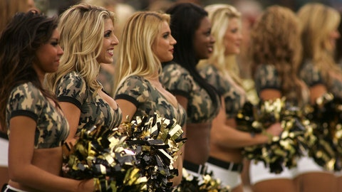 Jacksonville Jaguars cheerleaders