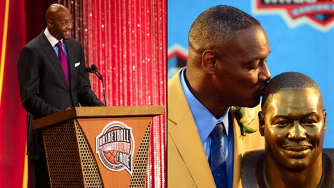 17. Hall of Fame recognition for Derrick Brooks and Alonzo Mourning