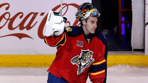 12. Panthers trade for Roberto Luongo