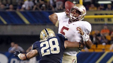 3. Florida State 41, Pittsburgh 13 -- Sept. 2, 2013