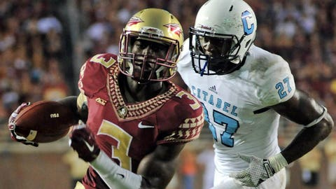 18. Florida State 37, The Citadel 12 -- Sept. 6, 2014