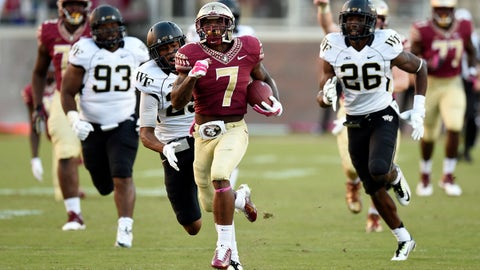 21. Florida State 43, Wake Forest 3 -- Oct. 4, 2014