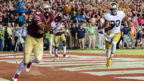 23. Florida State 31, Notre Dame 27 -- Oct. 18, 2014