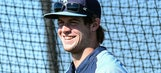 Wil Myers tapes camera to hat for bird's eye view of spring training workout