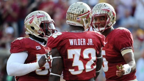 James Wilder, Jr., Florida State