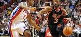 Dwyane Wade's recent play silencing any talk about balky knees