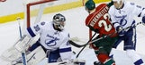 Lightning stifled by Darcy Kuemper in road loss to Wild