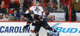 Hurricanes crush Panthers before Olympic sendoff