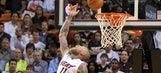 Heat slip back in race for No. 1 seed with loss to Nuggets
