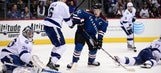 Lightning falter in third period in loss to Avalanche