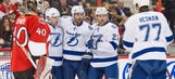 Teddy Purcell scores twice, helps Lightning overcome Senators on road