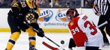 Tim Thomas has solid effort in Panthers' road loss to Bruins