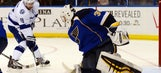 Lightning can't hold early lead against Blues