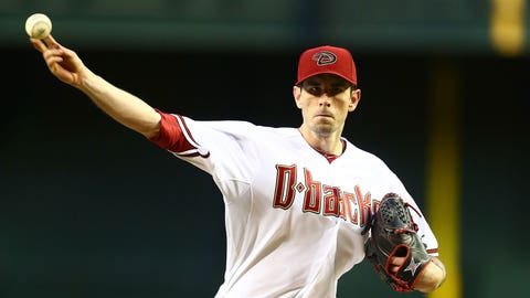 NL - Cold Pitcher - Brandon McCarthy (Arizona Diamondbacks)