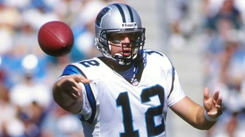 Kerry Collins (fifth pick, 1995, Carolina Panthers)