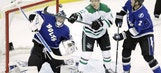 Benn scores twice as Stars beat Lightning 5-2