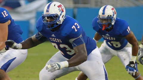 Kadeem Edwards, G, Tennessee State, fifth round (No. 143 overall)