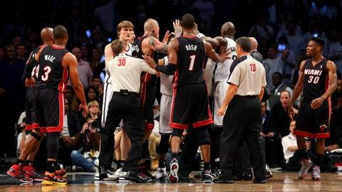 Heat vs. Nets Game 3