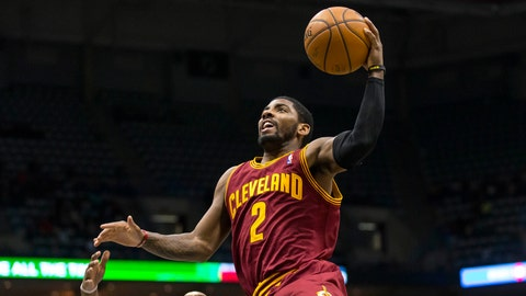 2011 No. 1 Pick: Kyrie Irving (Cleveland Cavaliers)