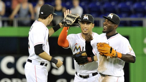 Marlins may have the best outfield in baseball