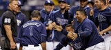 Sean Rodriguez saves day with 11th-inning HR to lift Rays past A's