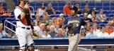 Giancarlo Stanton, Garrett Jones each homer twice in Marlins' loss to Brewers