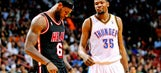 Heat's LeBron James second to Thunder's Kevin Durant in MVP voting
