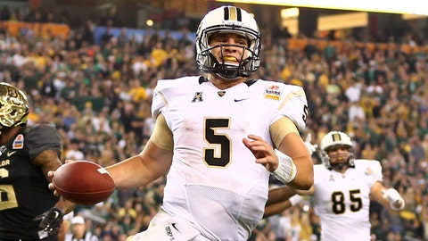 Blake Bortles, QB, UCF, first round (No. 3 overall)