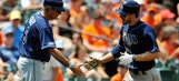 Joyce's monster day powers Rays to win over Orioles