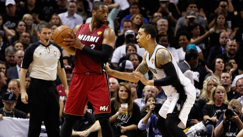 Heat vs. Spurs Game 1