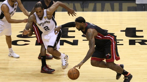 Heat vs. Spurs Game 2