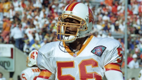 6. Hardy Nickerson, LB (1993-99)