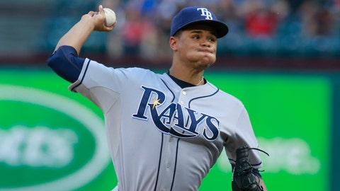 10. Chris Archer, SP, Tampa Bay Rays (9-6, 2.74 ERA, 121.2 IP, 147 SO, 30 BB)