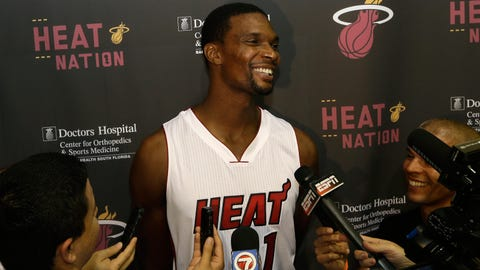 Chris Bosh, PF, Miami Heat