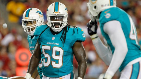 Signing LB Dannell Ellerbe to a five-year, $35 million contract