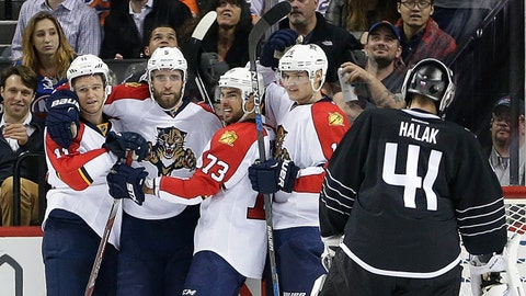 No. 1: Panthers 5, Islanders 1 -- Dec. 15, 2015