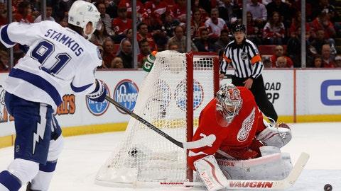 Game 3: Lightning vs. Red Wings