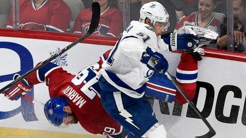 Game 1: Lightning vs. Canadiens