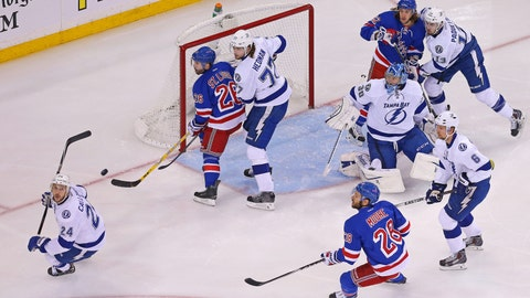 Game 1: Lightning vs. Rangers