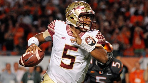 Jameis Winston, QB, Florida State, first round (No. 1 overall)