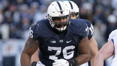 Donovan Smith, OT, Penn State, second round (No. 34 overall)
