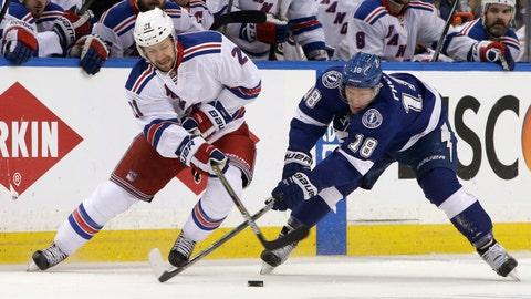 Game 4: Lightning vs. Rangers