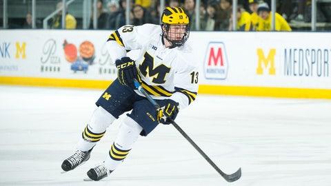 10. Zach Werenski, D, University of Michigan (NCAA)