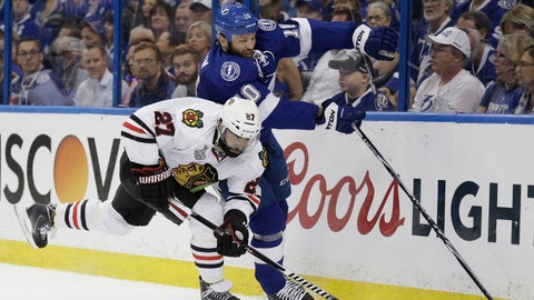 Game 1: Lightning vs. Blackhawks