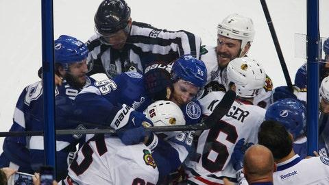 Game 2: Lightning vs. Blackhawks
