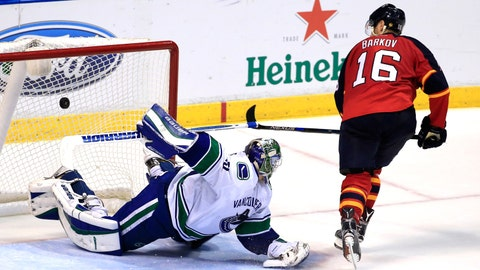 No. 4: Panthers 5, Canucks 4 (SO) -- Dec. 20, 2015